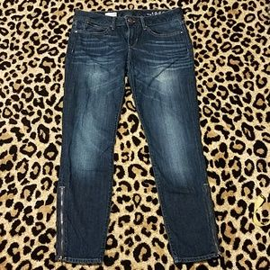 GAP Zipper-Ankle Always Skinny Jeans 29/8